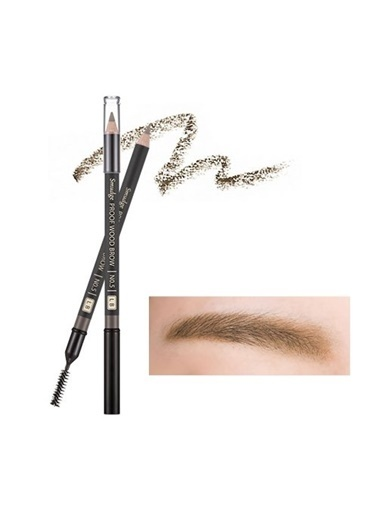 Missha Smudge Proof Wood Brow (Light Brown) Kahve